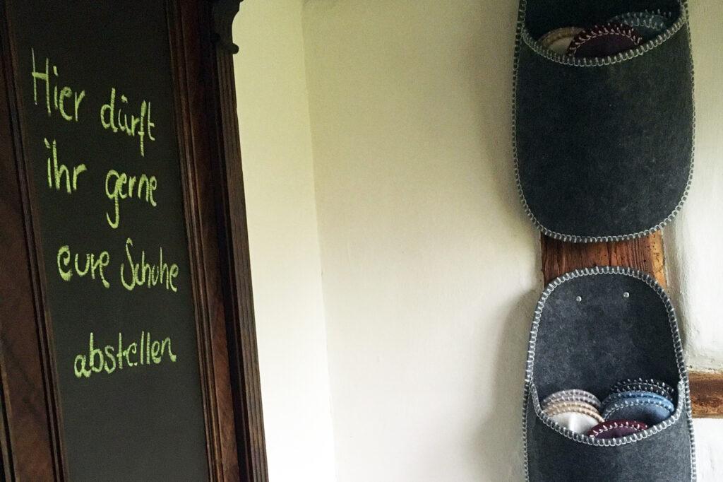 Unser Schuhschrank