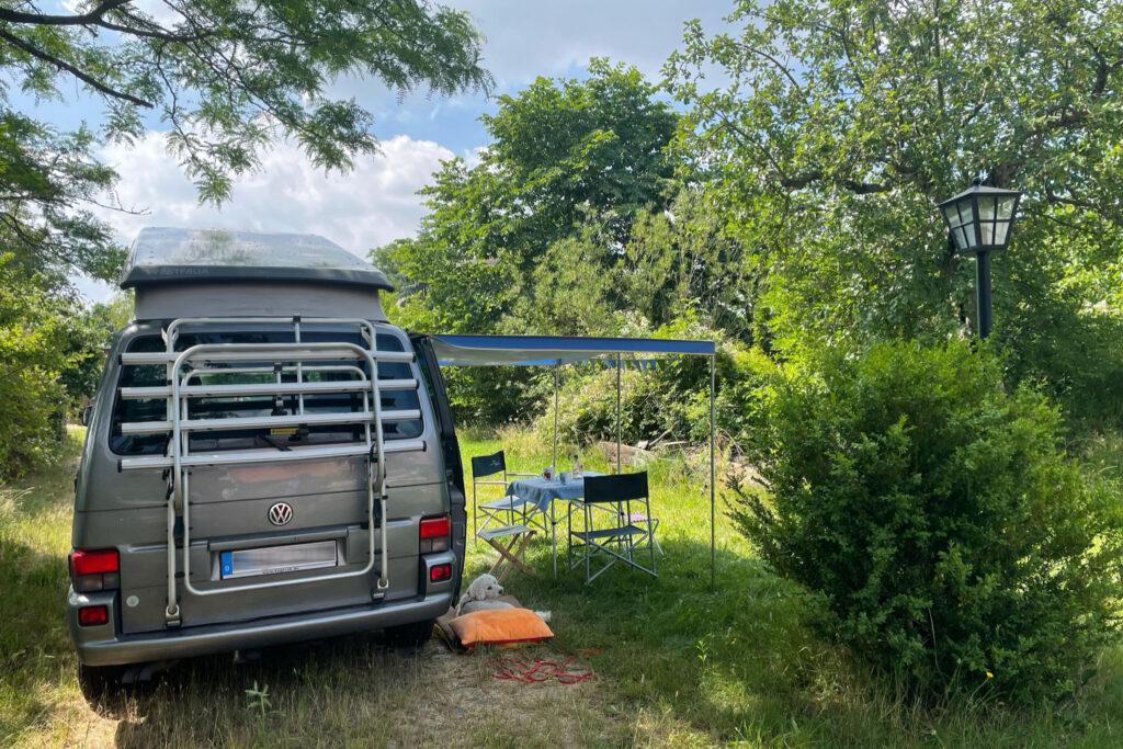 Campingbus-Stellplatz