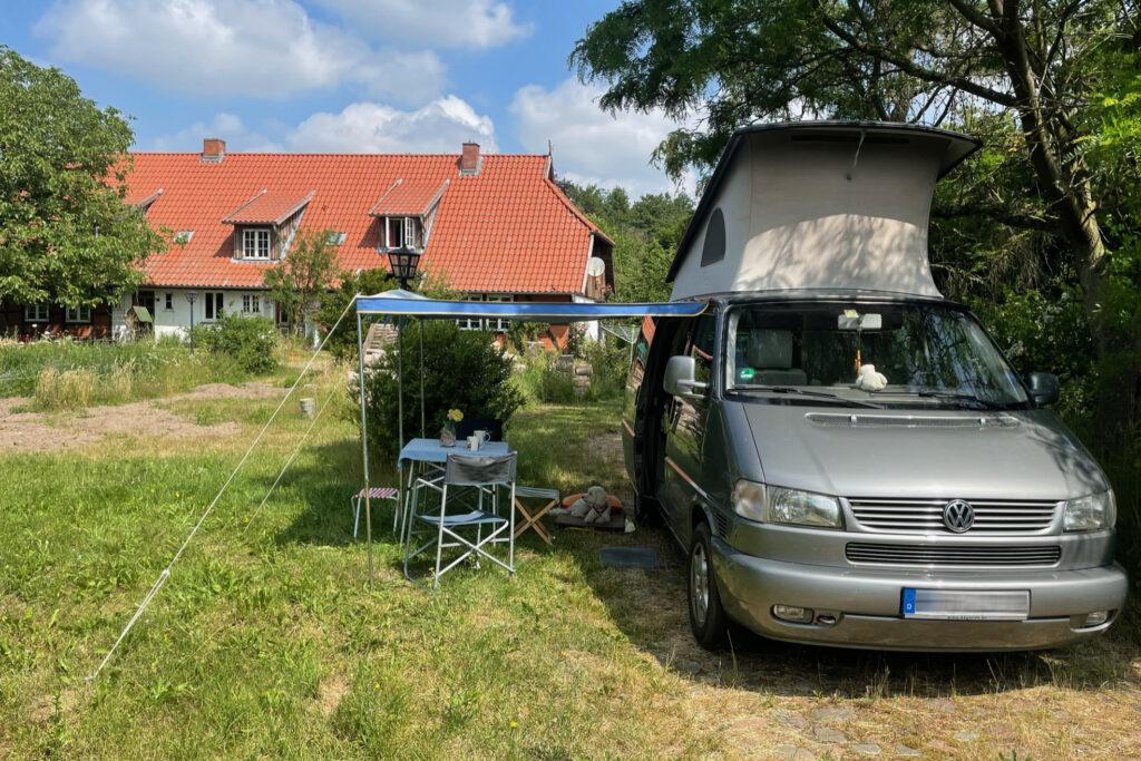 Stellplatz für Camper